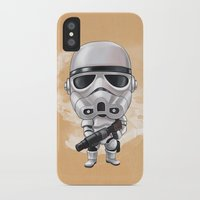 storm trooper iPhone & iPod Cases featuring STORM TROOPER by Leoren