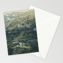 Travel photography A way to Hollywood I Stationery Cards