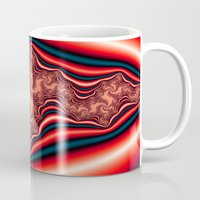 psychedelic Mugs featuring Psychedelic by Mi Nu Ra