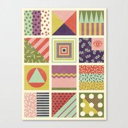 Patternz Canvas Print
