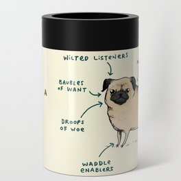 Anatomy of a Pug Can Cooler