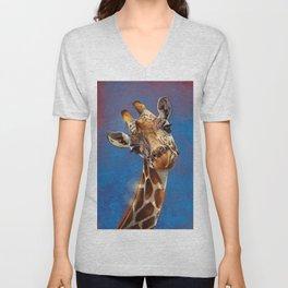 Giraffe 02 Unisex V-Neck