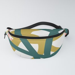 Abstract Lines 02A Fanny Pack