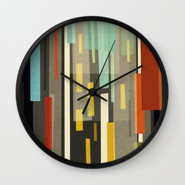 Straight Up New York Wall Clock