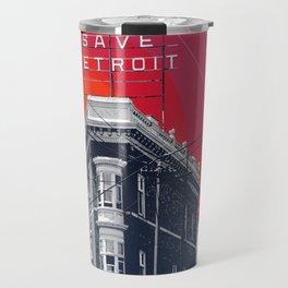 Save Detroit Travel Mug
