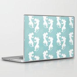 White Panther Laptop & iPad Skin