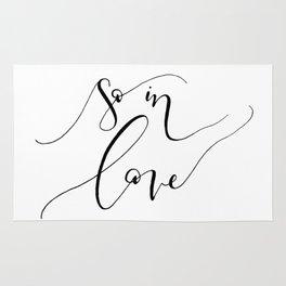 """""""So In Love"""" Rug"""