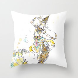 Wat Throw Pillow