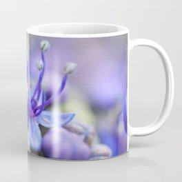 Macro image of purple hydrangea hortensia Coffee Mug