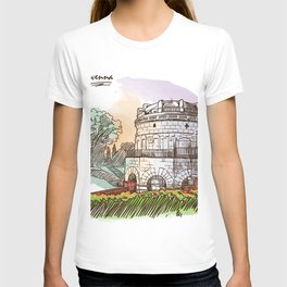 Sketches from Italy - Ravenna T-shirt