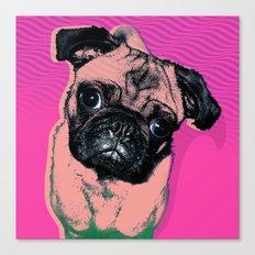 Pug #1 Canvas Print