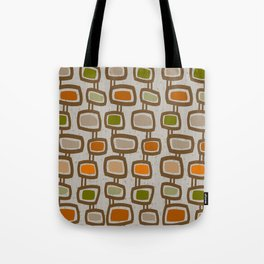 Dangling Rectangles Mid-Century Tote Bag