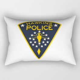 hawkins police Rectangular Pillow