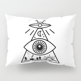 They Watch Us Pillow Sham