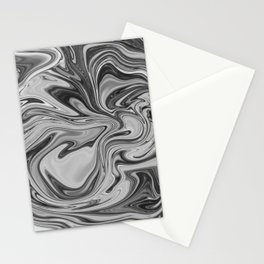 Marmalade Marble - Black and White Stationery Cards