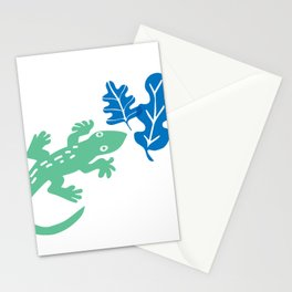 The Green Gecko Stationery Cards