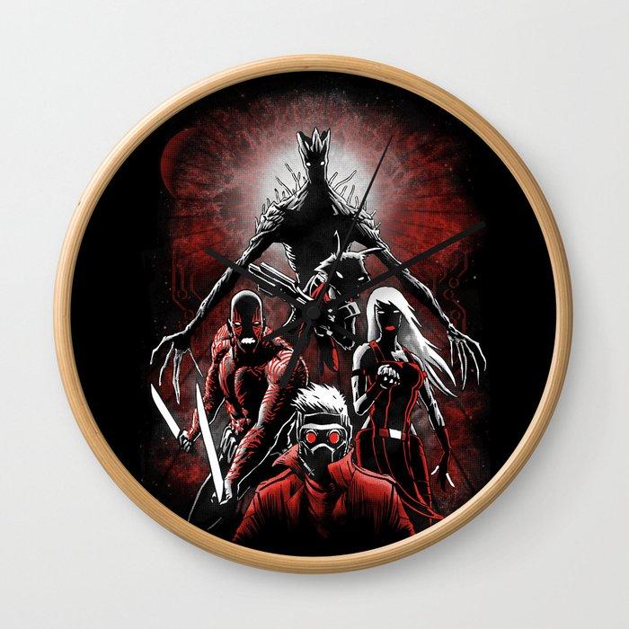 Legendary Guardians Wall Clock
