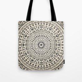 mandala5w Watercolor Mandala Tote Bag