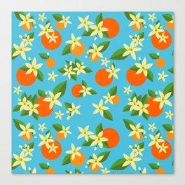 Orange Blossom Daydreams Canvas Print