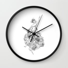 Lifted Wall Clock