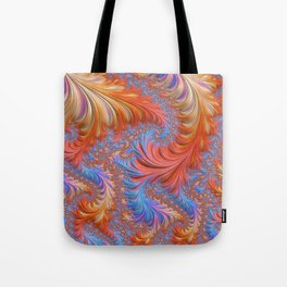 vibrant fractal Tote Bag