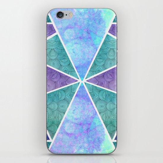 Geometric Reflection iPhone & iPod Skin