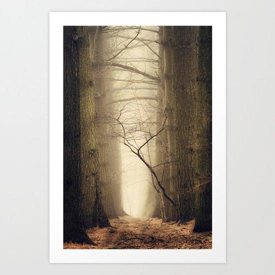 Quiet Art Print