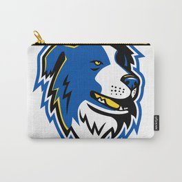 Border Collie Dog Mascot Carry-All Pouch