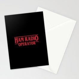 Strange Ham Radio Operator Stationery Cards