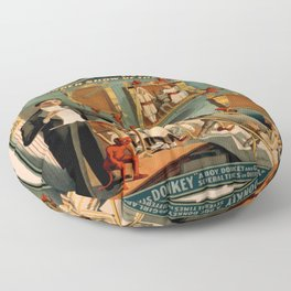 Vintage poster - Thurston the Magician Floor Pillow