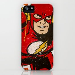 The Fastest Man Alive iPhone Case