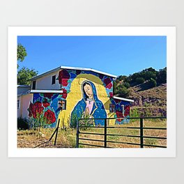 Our Lady of Ojo Art Print
