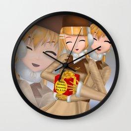 Kagamine Rin Len 10th Anniversary! Wall Clock