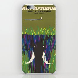 Vintage poster - Africa iPhone Skin