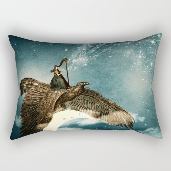 The Night Goddess Rectangular Pillow