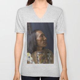 Little Dog - Brulé Lakota Sioux - American Indian Unisex V-Neck