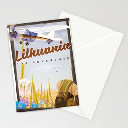 lithuania For an adventure Stationery Cards