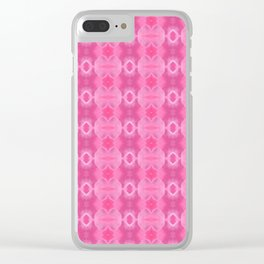 Wild Roses With Garden Background Abstract Clear iPhone Case