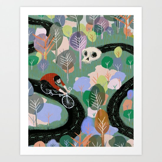 Monty Art Print