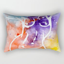 Inverse nude Rectangular Pillow