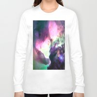 nebula Long Sleeve T-shirts featuring Pastel nebULa by 2sweet4words Designs