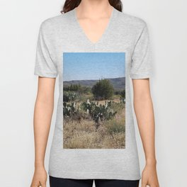 Bed of Cactus Unisex V-Neck