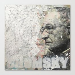 Chomsky Canvas Print