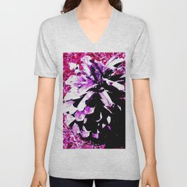 Purple Pinecone Unisex V-Neck