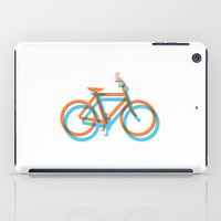 bike iPad Cases featuring Bike by 1838grafikk