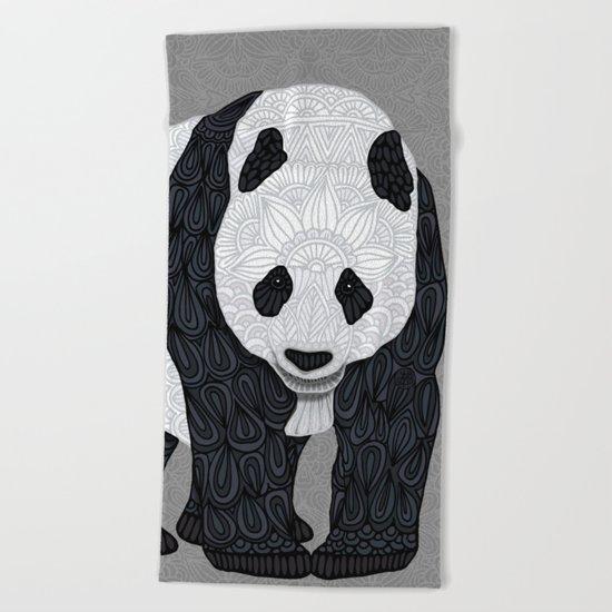 Papa Panda Beach Towel