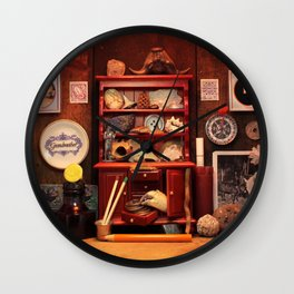 Curio Cabinet - Search and Find! Wall Clock