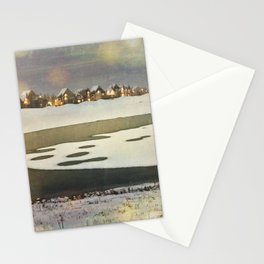 Icy Wonder Stationery Cards