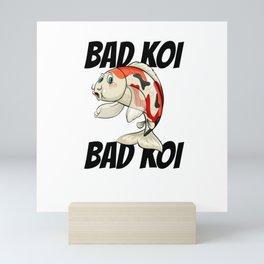 Bad Koi Mini Art Print