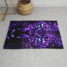 Neon Leopard Rug